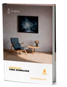 mockup libro pdf pricelist fireflies renders